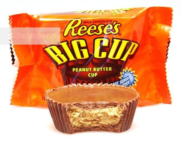 b5f609f7ca22 Вкусный мир 30 • Шоколадный кекс Hersheys Reeses Big Cap, 39 гр ...
