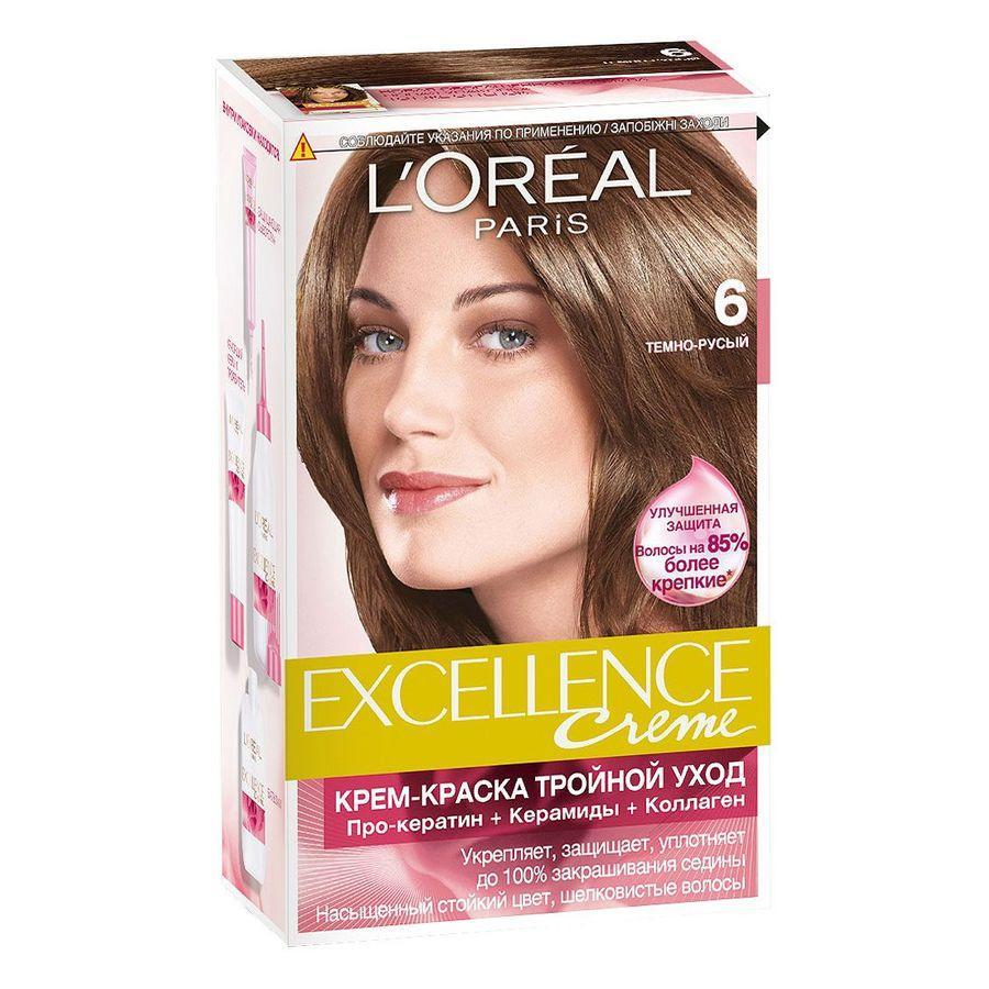 Краска для волос лореаль экселанс – это прекрасный продукт, предназначенный специально для окрашивания дома.