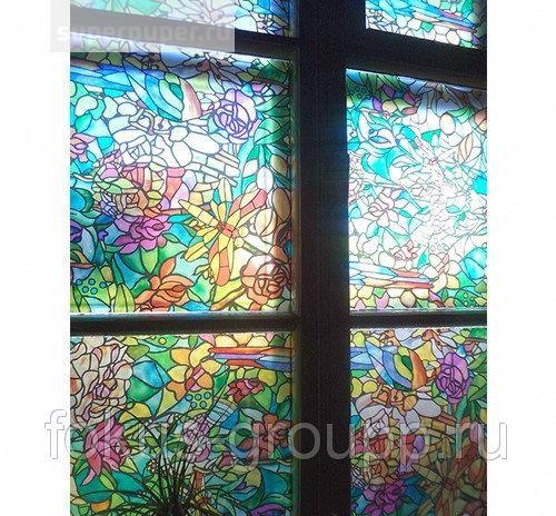 бекона витражная пленка на стекло самоклеющаяся фото поведала