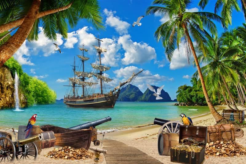 Остров с сокровищами картинки