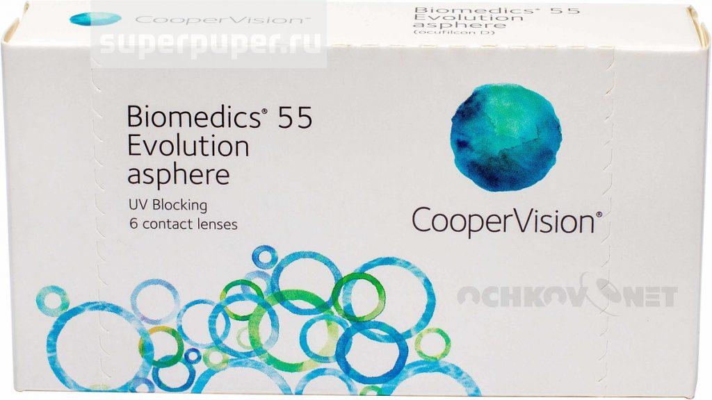 Линзы СПб 11 • CooperVision Biomedics 55 Evolution (6 шт ... 575bd9da887