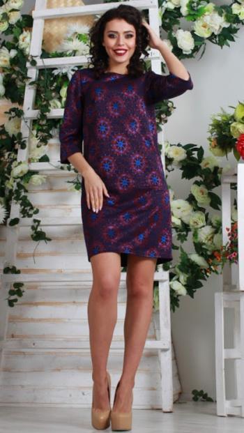 Женские платья из полушерстяного трикотажного полотна