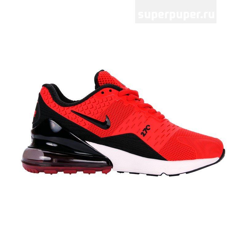782fa174 Кроссовки Nike Air Max 270 Red Black арт. 9028-5 реплика. фото товара. фото  товара