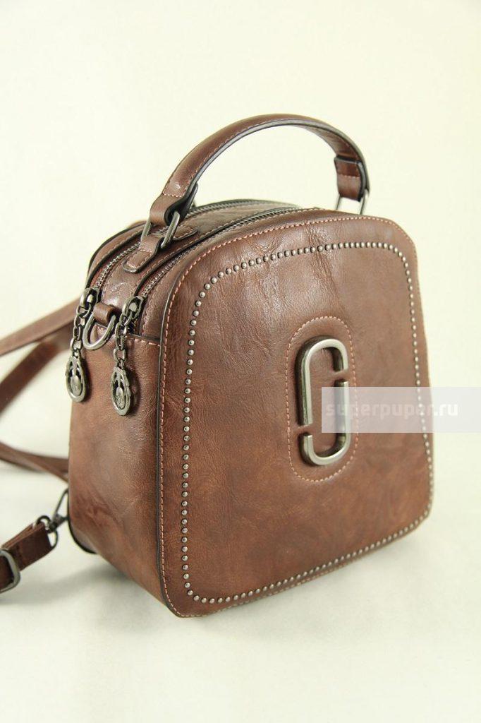 097dcdec9614 ТД Эрнест 69 • Сумка-рюкзак женская из кожзаменителя NN • Совместные ...