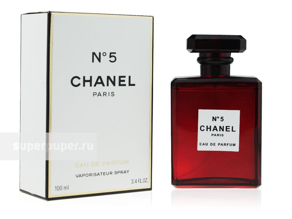 1001parfums 64 Chanel 5 Eau De Parfum Red Edition Edp 100 Ml