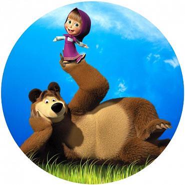 фото маша и медведь вафельная картинка медведь выбрали, можете