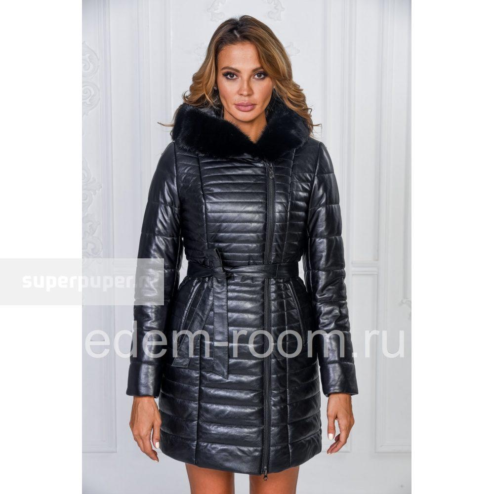 e0a20153599 Edem 25 • Зимнее кожаное пальто с мехом норки • Совместные покупки ...
