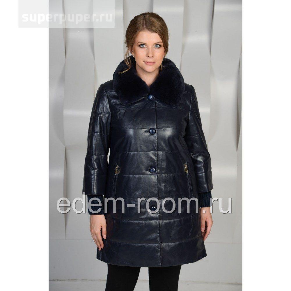 49c2419924f Edem 26 • Зимнее кожаное пальто для женщин • Совместные покупки ...