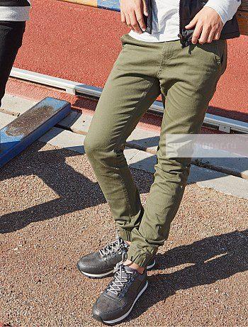 0a0e7b604d3 Kiabi Детям 66 • Узкие брюки-чинос в спортивном стиле WF145 ...
